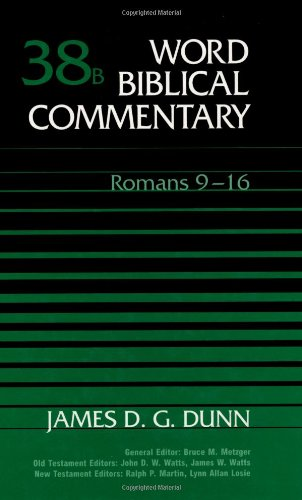 9780849902529: Word Biblical Commentary: Romans 9-16: 38B