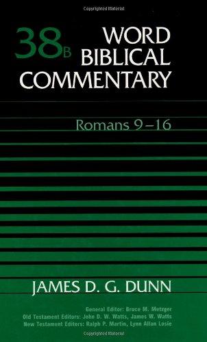 9780849902529: Word Biblical Commentary, Vol. 38B, Romans 9-16