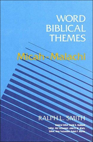 9780849907913: Micah-Malachi (Word Biblical Themes)