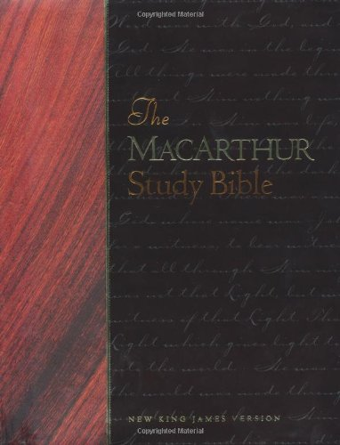 9780849912221: The Macarthur Study Bible: New King James Version