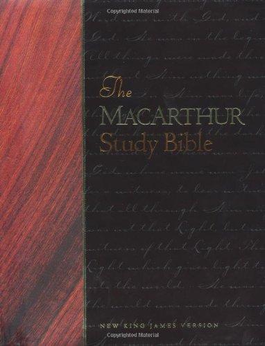 9780849912221: The Macarthur Study Bible ~ New King James Version (NKJV)