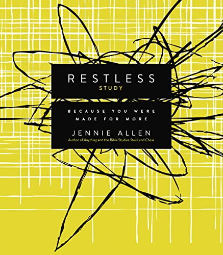 9780849922367: Restless Study Guide: Because You Were Made for More