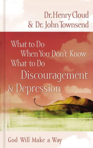 9780849929656: What to Do When You Don't Know What to Do: Discouragement and Depression
