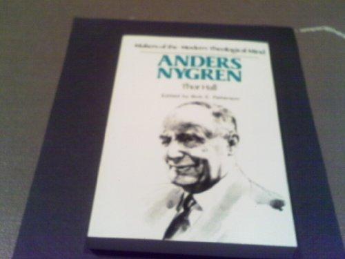 Anders Nygren: Hall, Thor.;Patterson, Bob E.