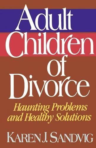 9780849932229: Adult Children of Divorce