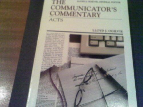 9780849932786: Title: Acts Communicators Commentary Vol 5