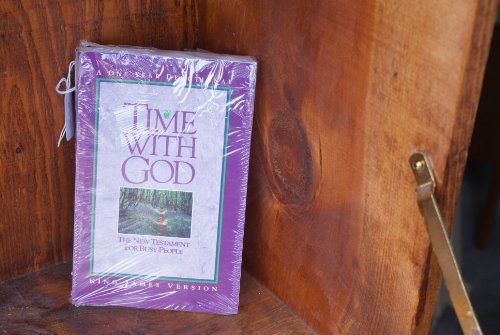 9780849934117: Time With God: King James Version/the New Testament for Busy People a One Year Devotional