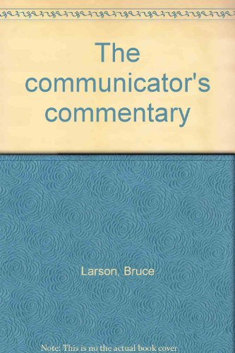 9780849938023: The Communicator's Commentary : Volume 3