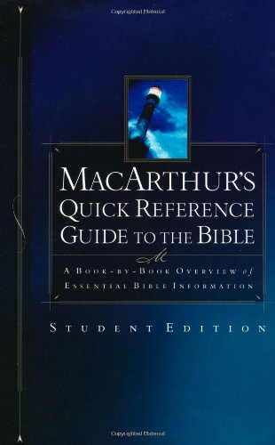 9780849942808: Macarthur's Quick Reference Guide To The Bible