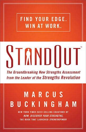 9780849948886: Standout: The Groundbreaking New Strengths Assessment from the Leader of the Strengths Revolution