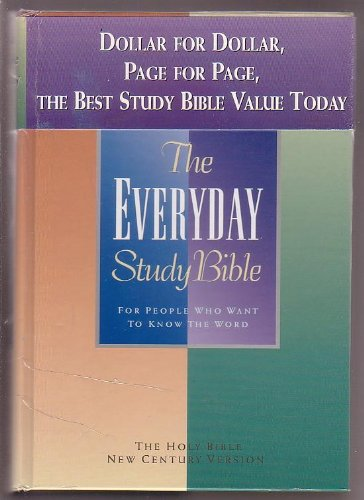 9780849950094: The Everyday Study Bible: For People Who Want to Know the Word