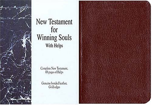 New Testament for Winning Souls: Burgundy King James Version (9780849951473) by Jack Countryman