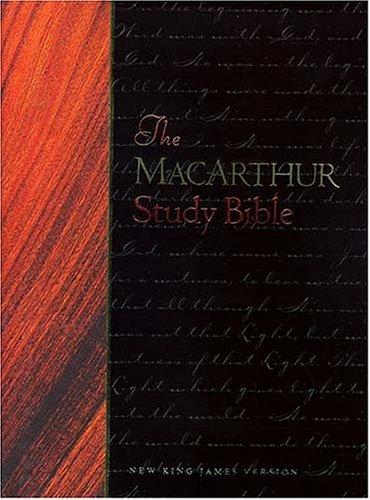 9780849953354: The Macarthur Study Bible