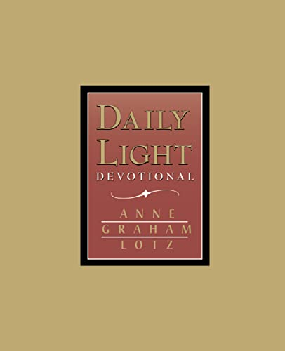 9780849954061: Daily Light Devotional (Burgundy Leather)