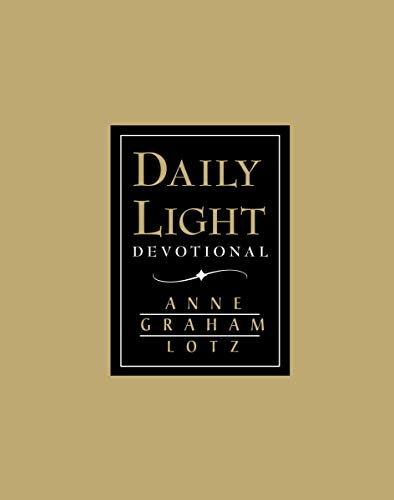 9780849954078: Daily Light Devotional (Black Leather)