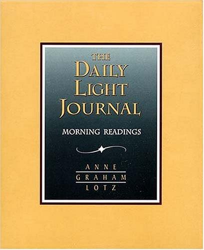 9780849955631: Daily Light Journal