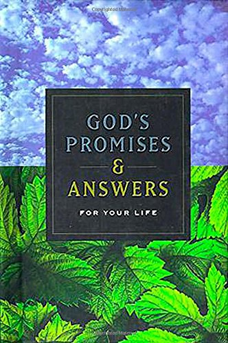 God's Promises And Answers For Your Life (9780849955815) by Nelson Word Publishing Group