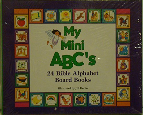 9780849958311: My Mini ABC's: 24 Bible Alphabet Board Books