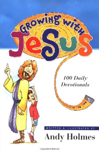 9780849959080: Growing With Jesus:100 Daily Devotionals