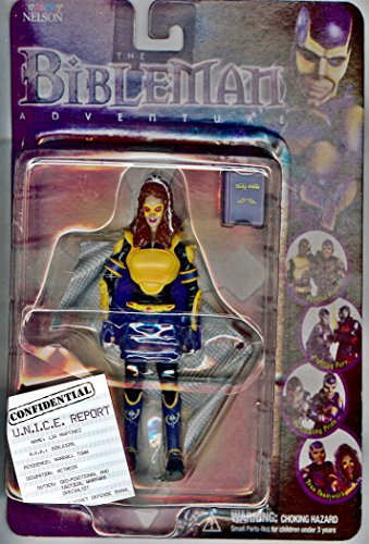 Biblegirl Action Figure (Bibleman Genesis Series) Action Figure