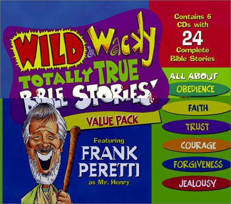 9780849979057: Wild & Wacky Totally True Bible Stories: Value Pack Featuring Frank Peretti As Mr. Henry