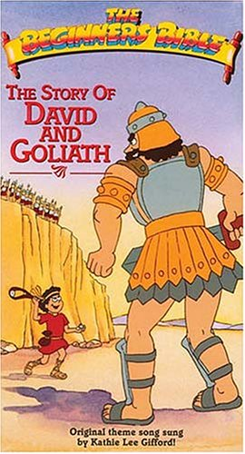 9780849986758: The Beginner's Bible: The Story of David and Goliath [VHS]