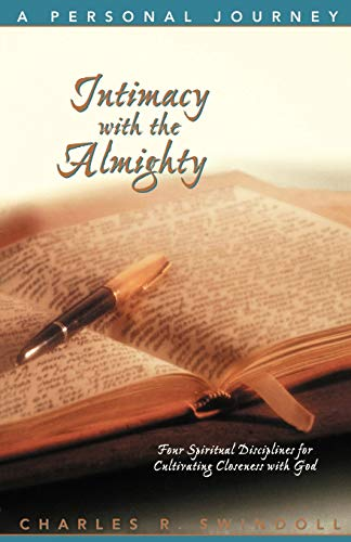 9780849987489: Intimacy with the Almighty Bible Study guide (Insight for Living Bible Study Guides)