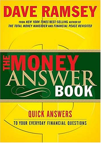 9780849996191: The Money Answer Book: Quick Answers To Your Everyday Financial Questions