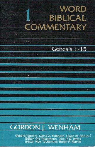 9780850094480: Genesis 1-15 (Word Biblical Commentary)