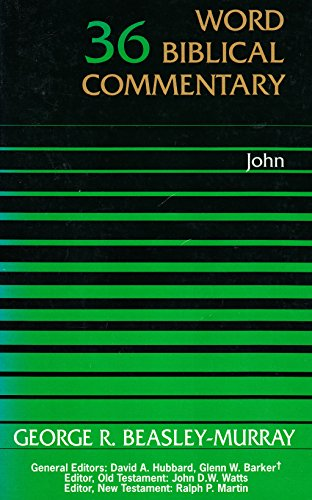 9780850094879: John (Word Biblical Commentary)