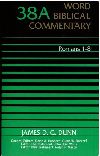 9780850094909: Word Biblical Commentary Romans 1-8