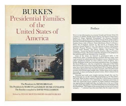 9780850110173: Burke's Presidential Families of the United States of America (Burke's genealogical series)