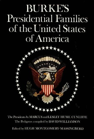 9780850110333: Burke's Presidential Families of the United States of America