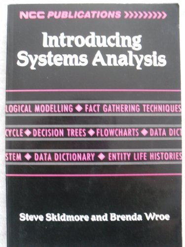 9780850126303: Introducing Systems Analysis