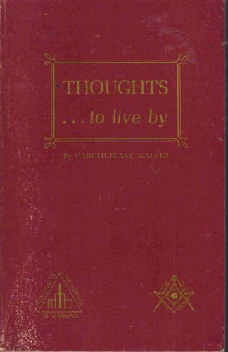 9780850130218: Thoughts...to Live By