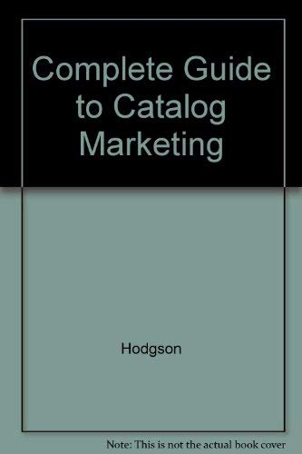 9780850131765: Complete Guide to Catalog Marketing