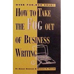 9780850132328: How to Take the Fog Out of Business Writing