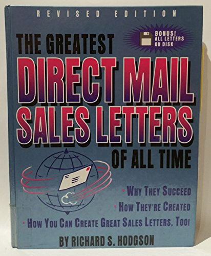 9780850132380 The Greatest Direct Mail Sales Letters Of All Time