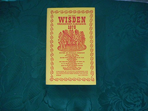 9780850200508: Wisden Cricketers' Almanack 1976