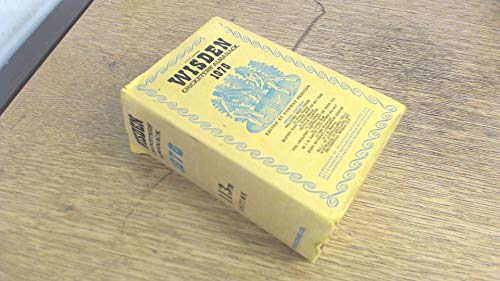 9780850200515: Wisden Cricketers' Almanack 1976