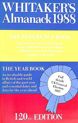 Whitaker's Almanack, 1988