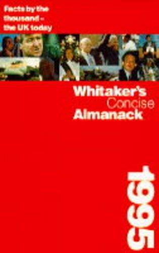 Whitaker's Concise Almanack 1995: 127th annual edition: Unknown