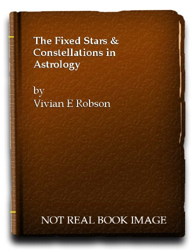 9780850300475: Fixed Stars and Constellations in Astrology