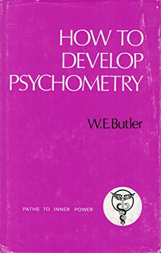 9780850300666: How to Develop Psychometry (Paths to Inner Power)