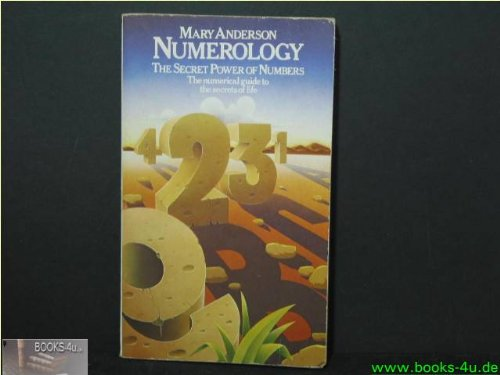 9780850301830: NUMEROLOGY: The Secret Power of Numbers