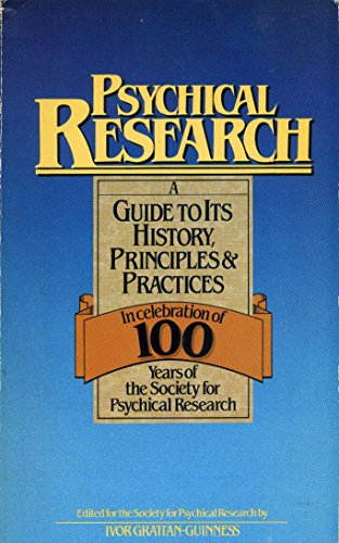 9780850303162: Psychical Research: A Guide to Its History, Principles and Practices