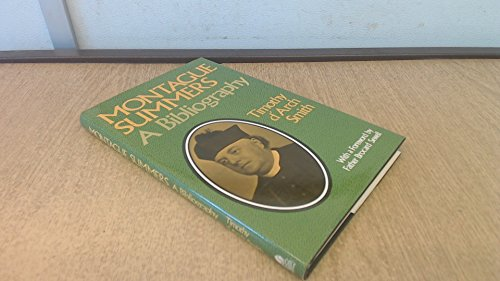 9780850303179: Montague Summers a Bibliography