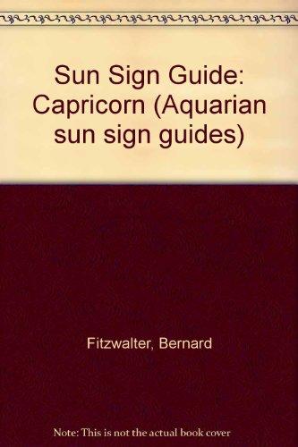 9780850305784: Sun Sign Guide: Capricorn