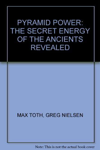 9780850308402: Pyramid Power: The Secret Energy of the Ancients Revealed