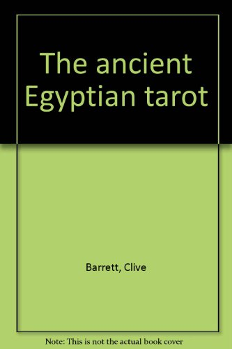 9780850309669: The Ancient Egyptian Tarot
